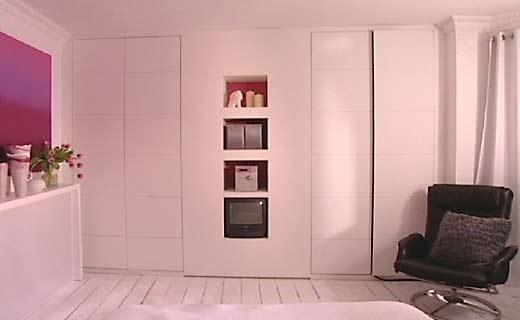 Camera da letto in stile anni 60