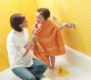 Un bagno sicuro