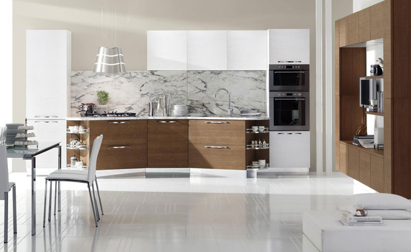 Cucina moderna design italiano for Cucina italiana design
