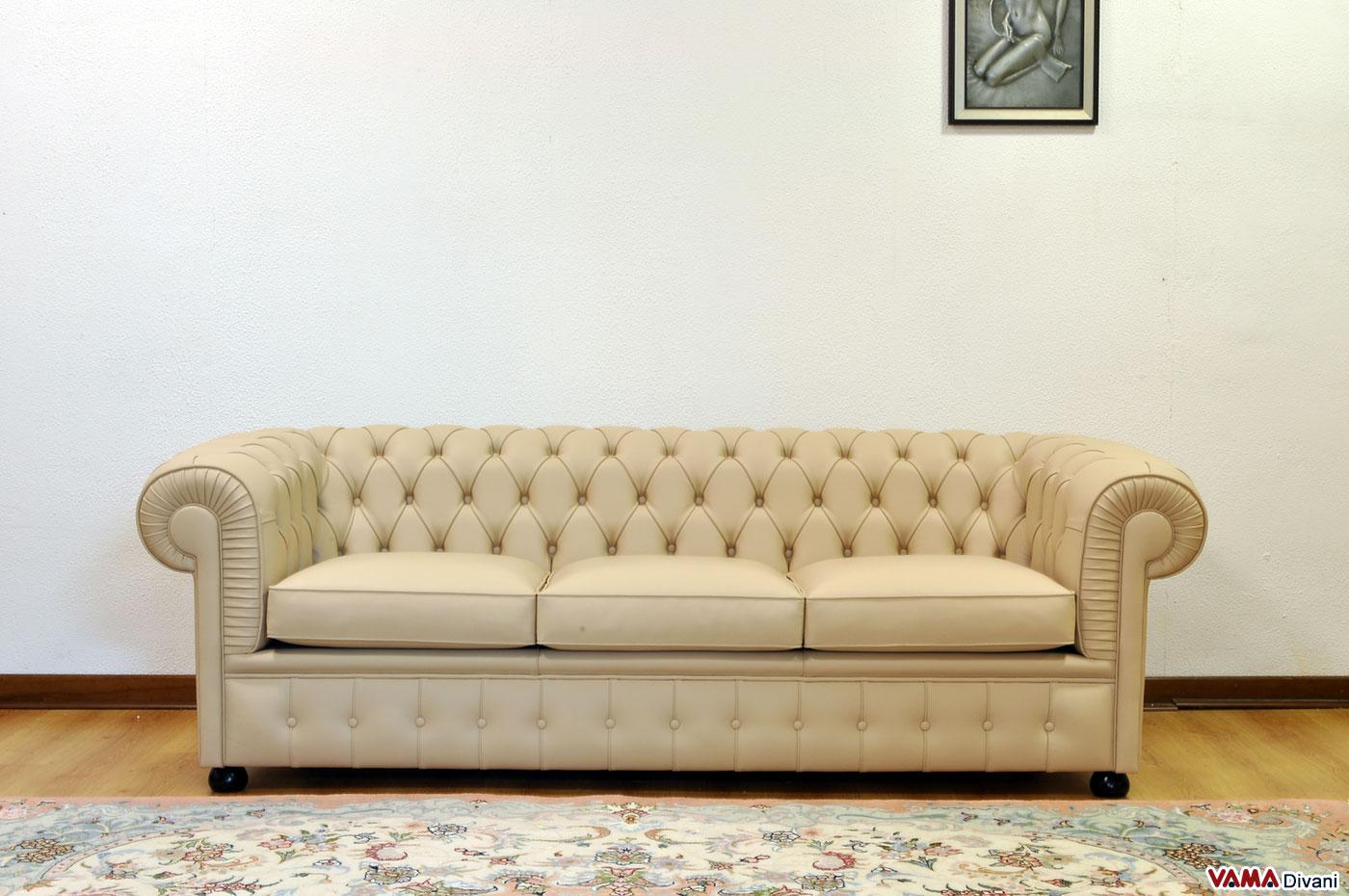 Divano chester arredare la casa con i divani chesterfield for Divani rossi