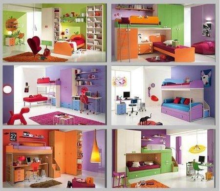 Camere per bambini: tante soluzioni salva spazio