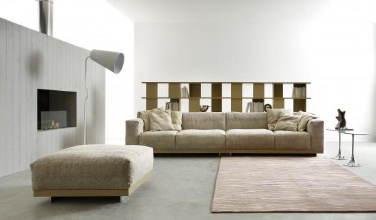 Arredare il soggiorno reinterpretando il divano for Arredare il soggiorno
