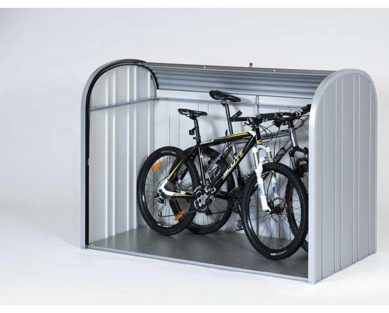 Novit giardino casette e contenitori porta tutto in metallo - Box bici da giardino ...