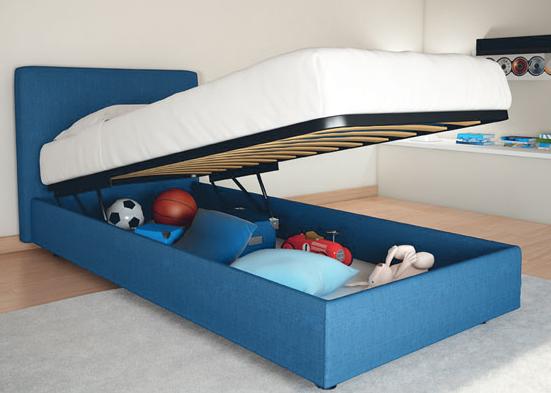 Letto con contenitore per bambini un 39 idea per la cameretta - Come costruire un letto contenitore ...
