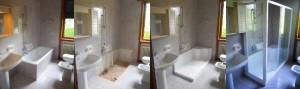 Interventi per sostituire la vecchia vasca da bagno con un nuovo box doccia