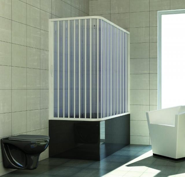 Un solo bagno in casa vasca o doccia for Bastoni per tende vasca da bagno