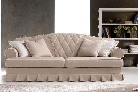 Saturnia il nuovo divano elegante dallo stile originale - Divano classico lusso ...