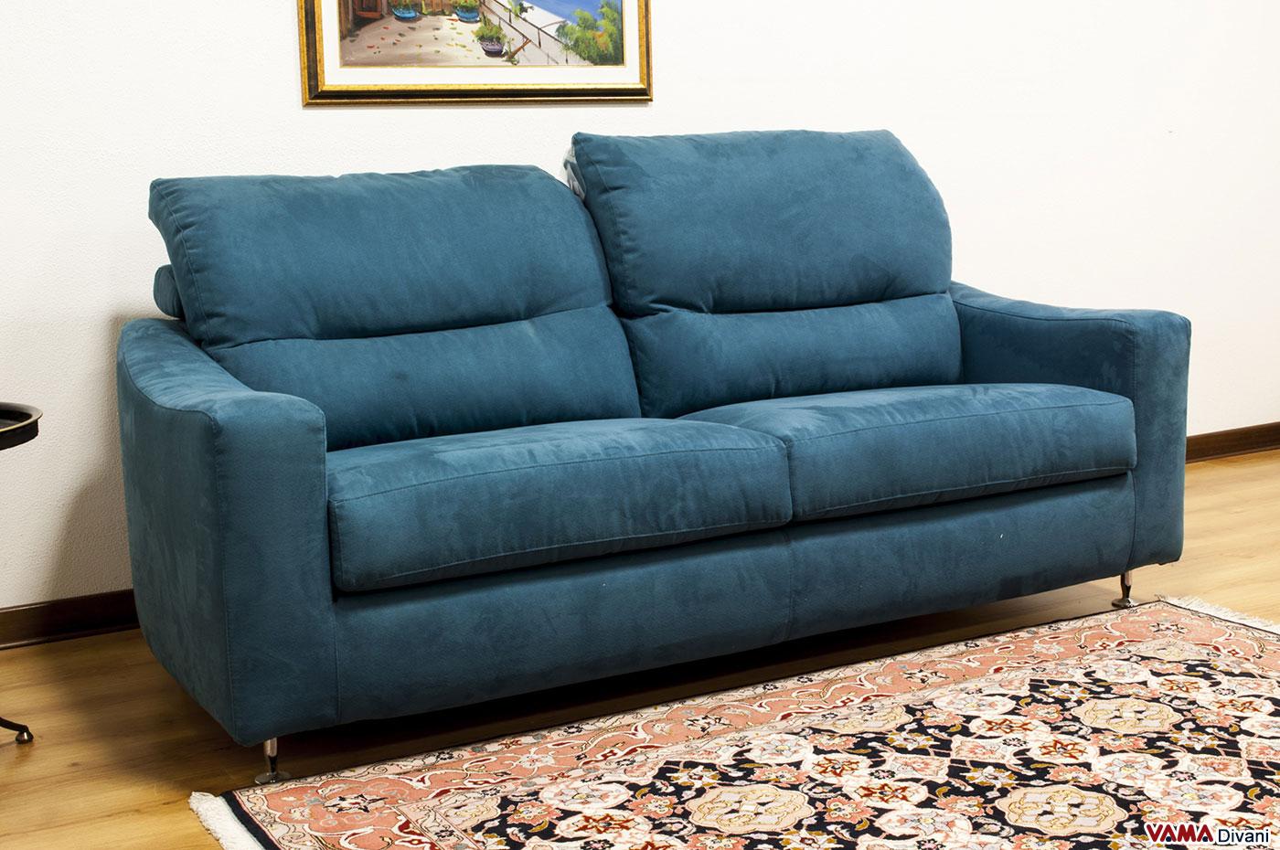 Charlie un interessante divano moderno - Microfibra divano ...
