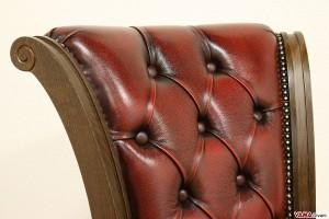 Schienale di una sedia Chesterfield