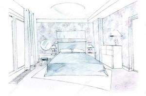 Camera da letto come scegliere il colore delle pareti - Scegliere il colore della camera da letto ...