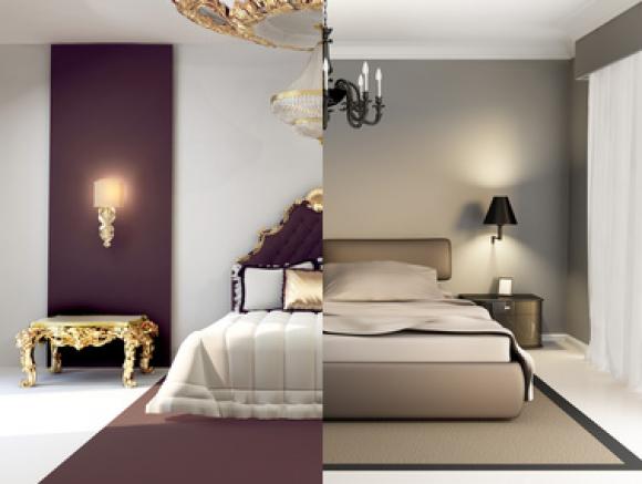Camera da letto come scegliere il colore delle pareti for Arredamento rustico moderno camera da letto