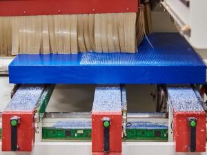 La maggiore difficoltà consisteva nello scoprire la profondità di penetrazione della fresa per ottenere un determinato valore cromatico.